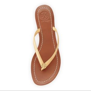 3e5638639339 Tory Burch Shoes - Tory Burch Terra Thong Sandal - Sun Beige Color